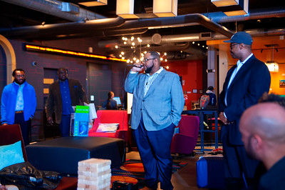 CAABJ Tournament Mixer - Event Sponsor Wells Fargo @ Aloft 2-26-19 by Jon Strayhorn