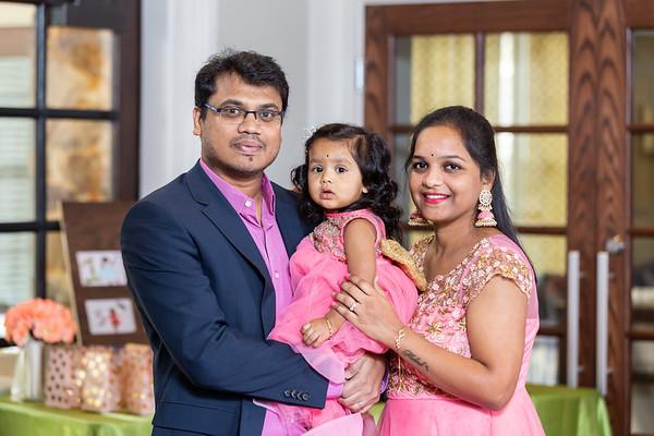 Asha 1st Birthday