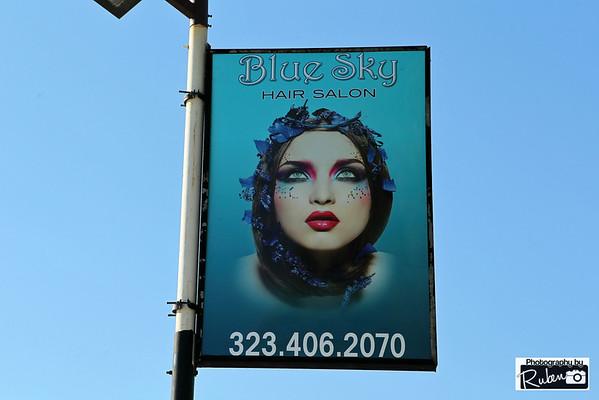 Blue Sky Hair Salon Grand Opening