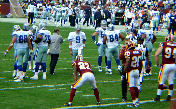 Cowboys-Redskins Game