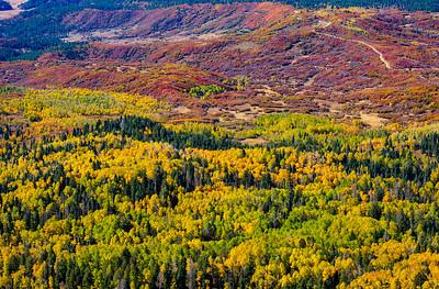 V Mountain Fall Color Hike 2019