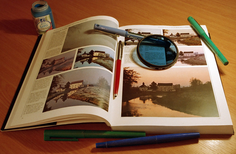 Studying and... practising photography