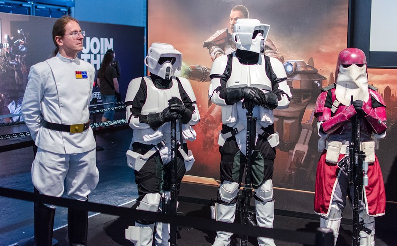 Imperial guards @ Gamescom 2012
