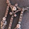 1.63ctw Victorian Triple Drop Diamond Necklace 12
