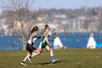 Rogers vs Cranston East Lacrosse Girls 4.11.17