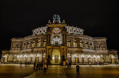 The Semperoper, Dresden, Germany