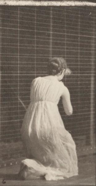 Woman performing various movements