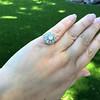 1.98ctw Art Deco Diamond Dome Ring 22