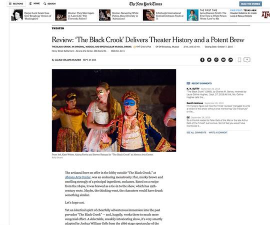 Production Photos NY Times