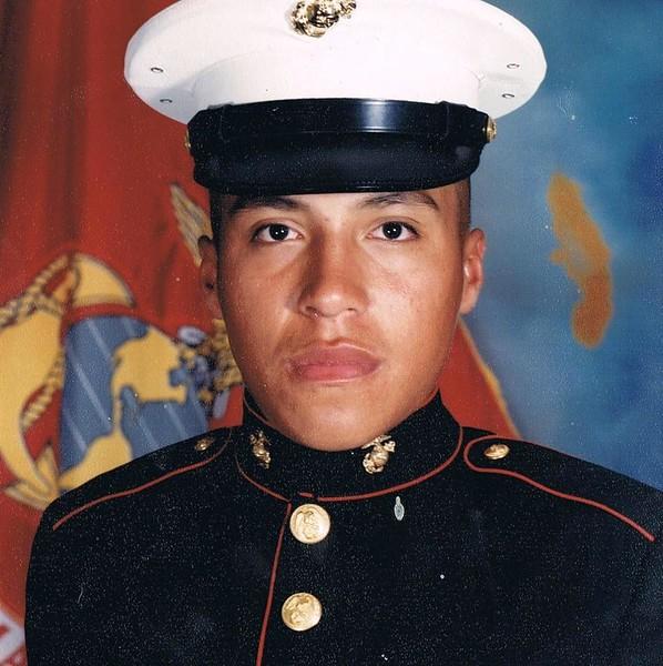 Michael Silva, U.S. Marine Corps, spouse of Corin Silva.