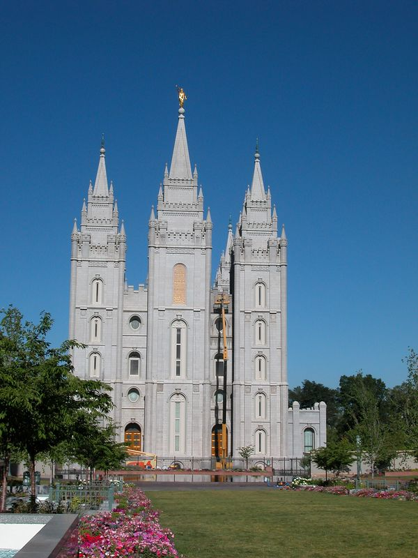 Temple Square July 2002
