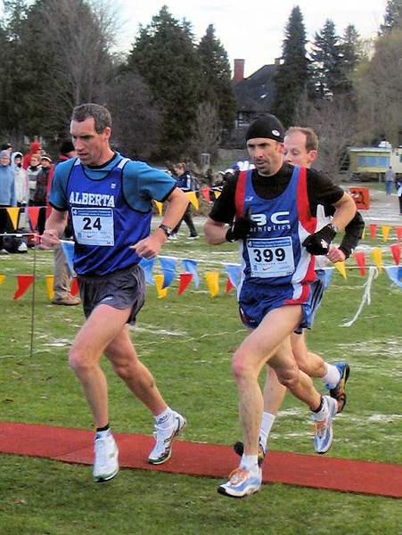 2005 Canadian XC Championships - McCloy, Bachop and Lonergan complete lap 2 of 4