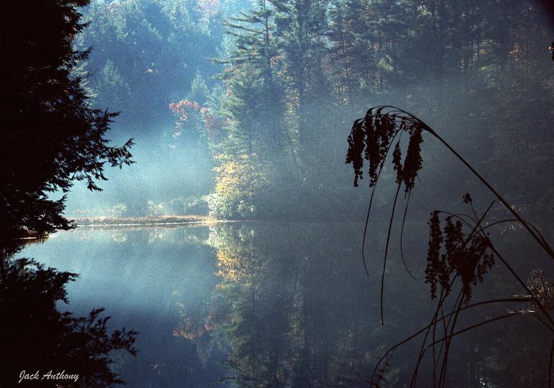 Campfire Smoke on Rock Creek Lake