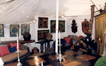 Bridge Hampton antiques fair. artmosphere exhibit. Maisonemaison.com