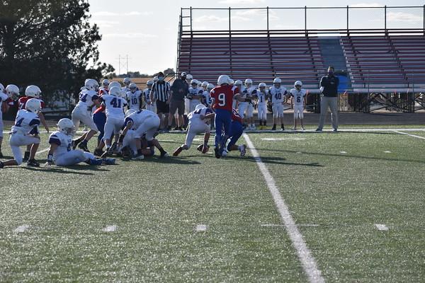 7th grade Football vs. Blair