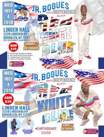 "JR BOGUES ""RED WHITE BLUE AFFAIR 2018""(15)"