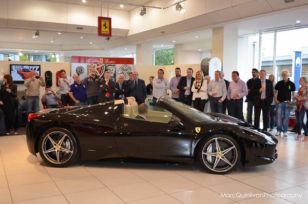Ferrari 458 Spider Launch