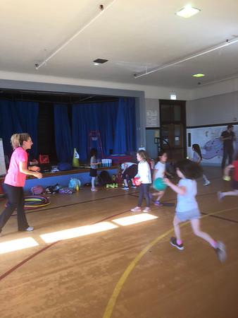 Prescott Elementary Throw Clinic 5.30.19