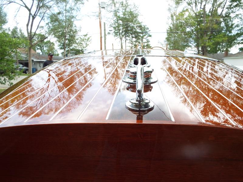 Rear deck close up.