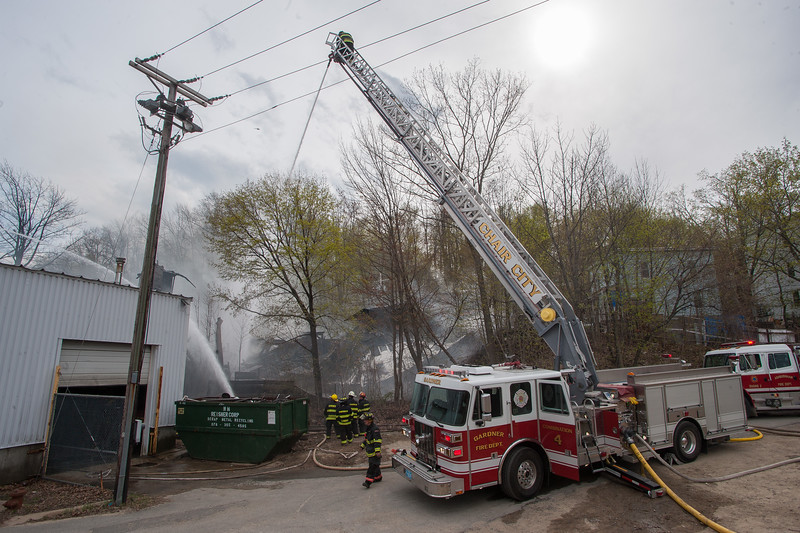 Gardner Combo 4 operates at the rear of the building at the 6th Alm on Sherman St.
