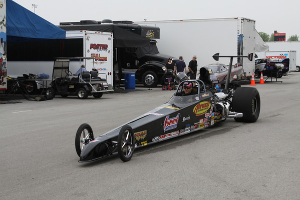 Top Sportsman and Top Dragster Staging Lanes