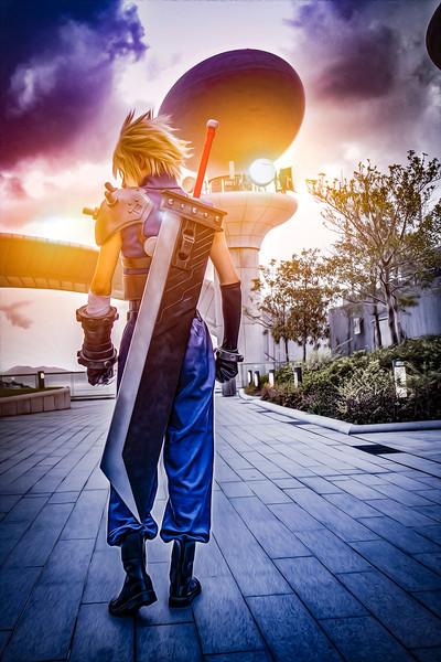 Final Fantasy VII Cloud Strife (Sekishinkou)