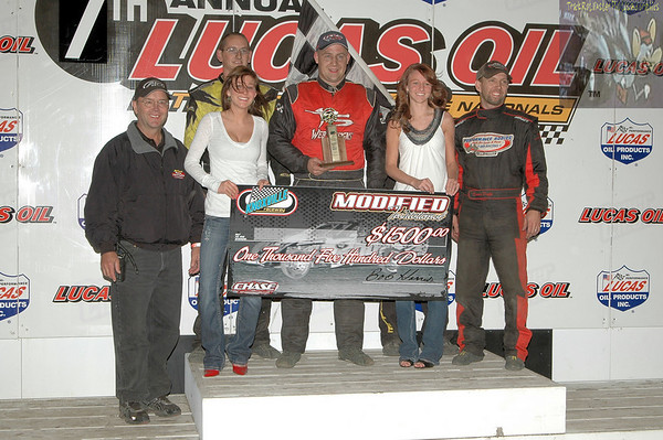 Late Model Nationals - IMCA Modifieds - October 1, 2010