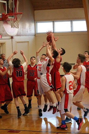 MS 8th Boys Basketball vs Riverside 3-20-19