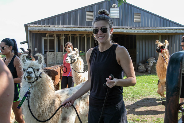 Bachelorette Party with Llamas