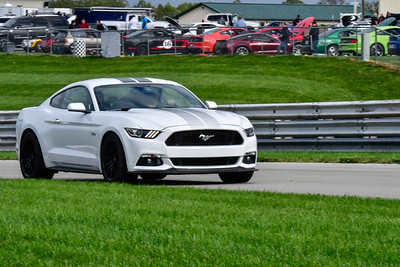 2020 SCCA TNiA Pitt Race Sept 30 Nov White Mustang