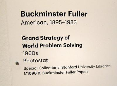 Buckminster Fuller - SF MOMA 2012