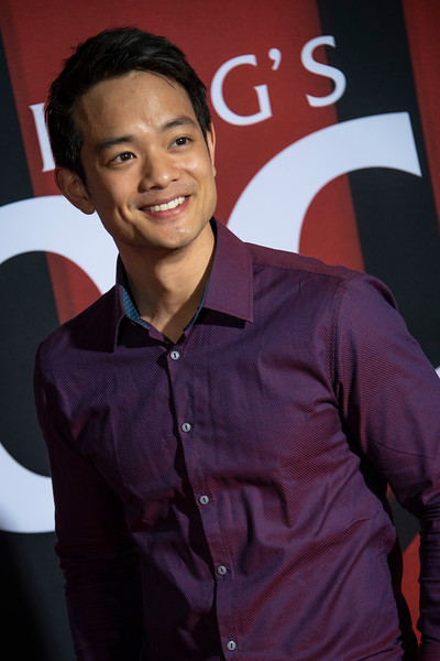 "LOS ANGELES, CALIFORNIA - OCTOBER 29: Osric Chau attends the premiere of Warner Bros Pictures' ""Doctor Sleep"" at Westwood Regency Theater on Tuesday October 29, 2019 in Los Angeles, California. (Photo by Tom Sorensen/Moovieboy Pictures,)"