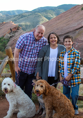 Red Rocks Family Portraits