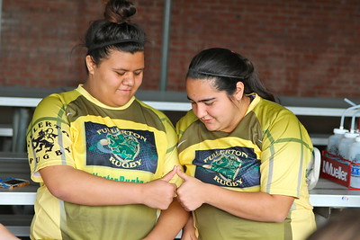 Fullerton U18 Color Ceremony & Team pix