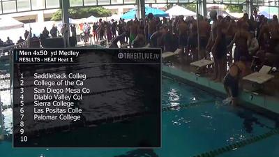 E14 Men's 200 yd Medley Relay
