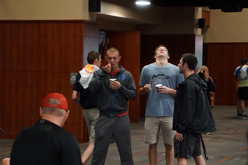 Students enjoying Last Blast before finals