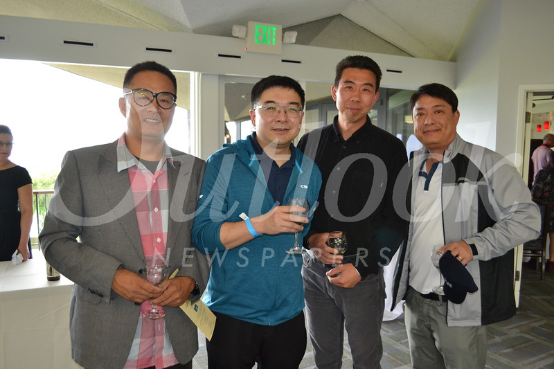 Charlie Zhou, Sheng Jin, Gavin Bu and Steven Lin