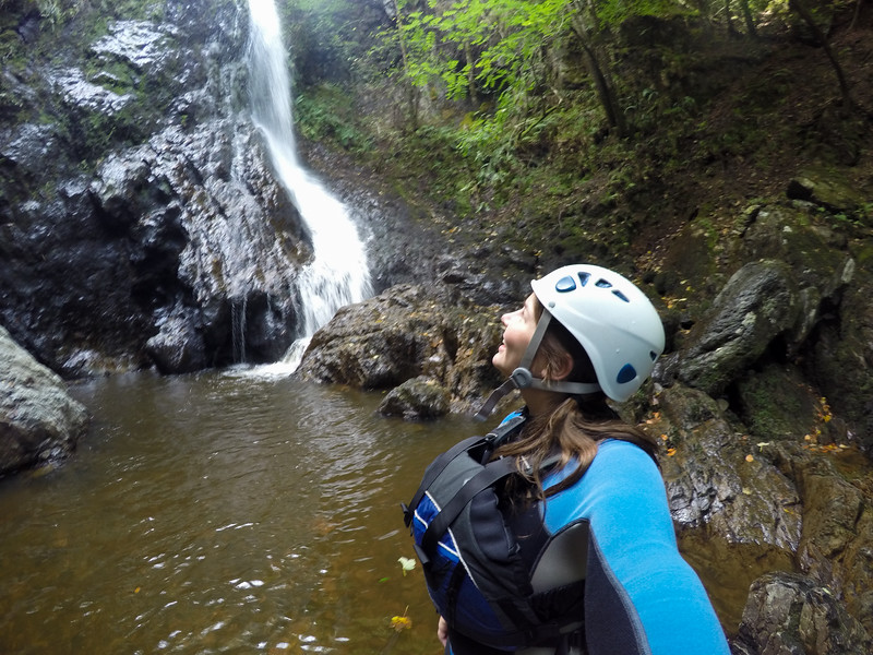 Gorge hiking in Wales