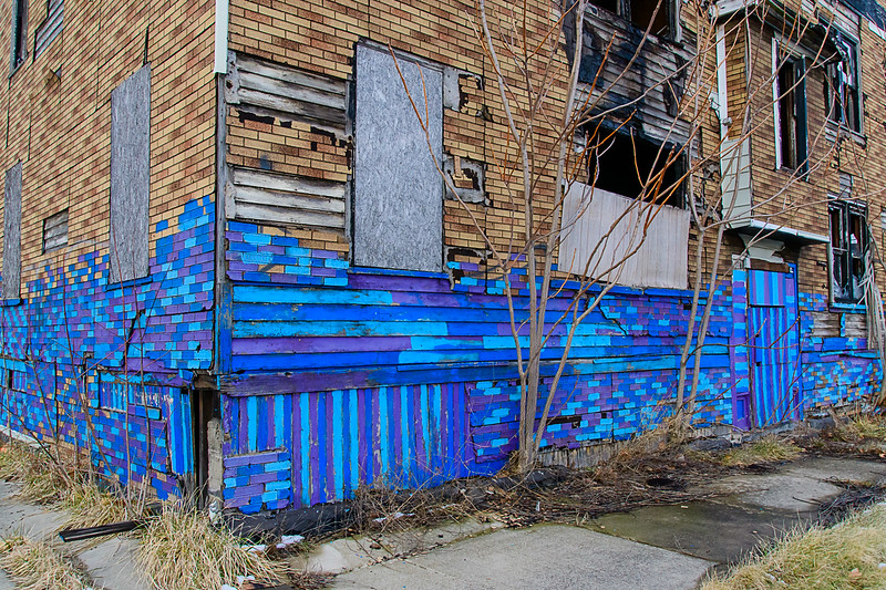 Blue Commentary, East Side Detroit