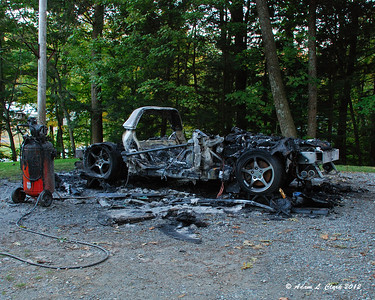 Corvette - Fire Damage