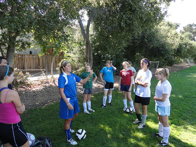 fall soccer practice 2010