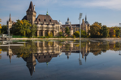 Vasjdahunyad castle Budapest
