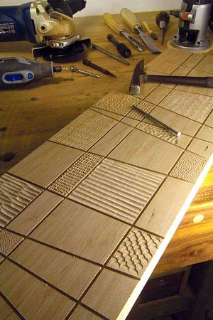 Hand made wood patterns