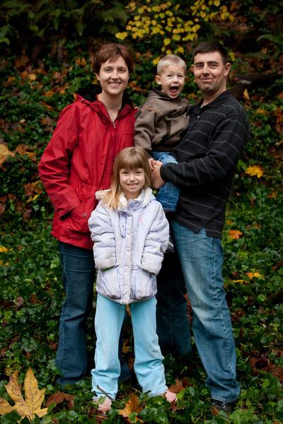 Crisp Family 2010
