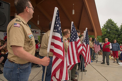 Batavia Flag Day and Bulldogs unveiled