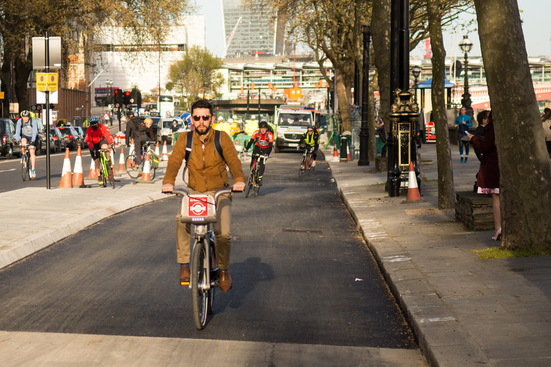 East-west Cycle Superhighway