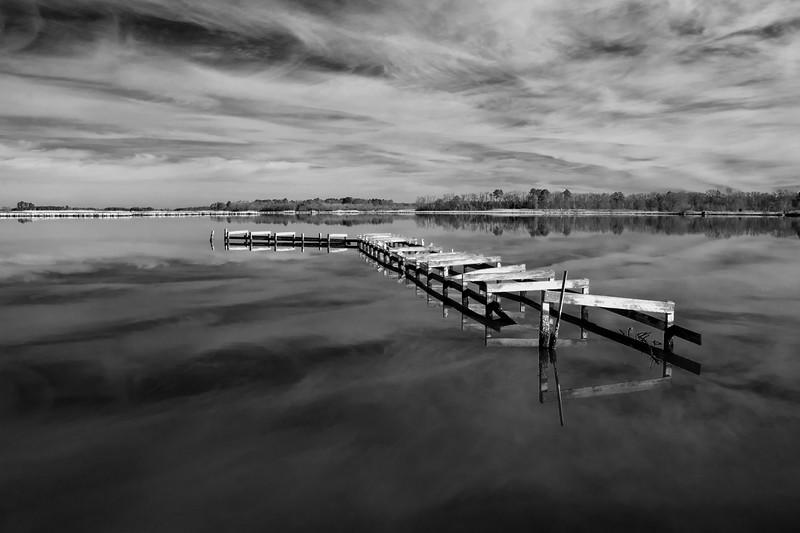 Old Blackwater Dock Monochrome Five.jpg