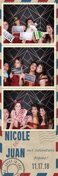 Nicole & Juan's weddings