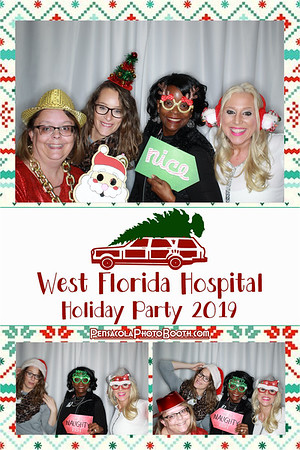 West Florida Hospital Holiday Party 12-17-2019