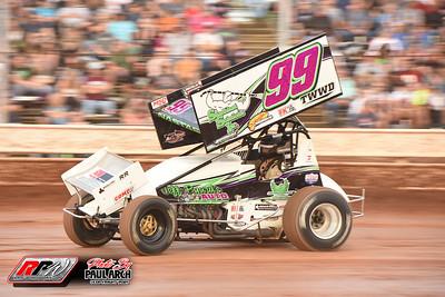 Sharon Speedway All Star Sprints - 7/10/21 - Paul Arch